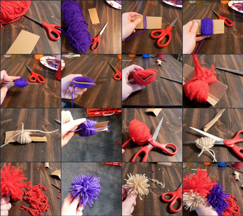 Luxury How to Yarn Pom Poms Bless This Mess Yarn Pom Pom Maker Of New 40 Images Yarn Pom Pom Maker