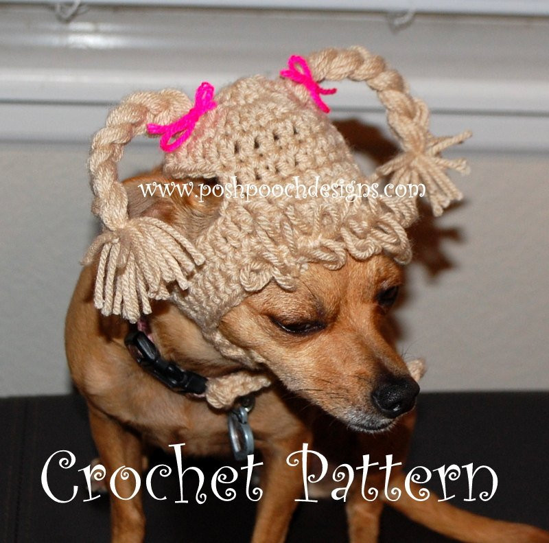 Luxury Instant Download Crochet Pattern Cabbage Patch Dog Hat Crochet Dog Hat Of Marvelous 45 Pictures Crochet Dog Hat
