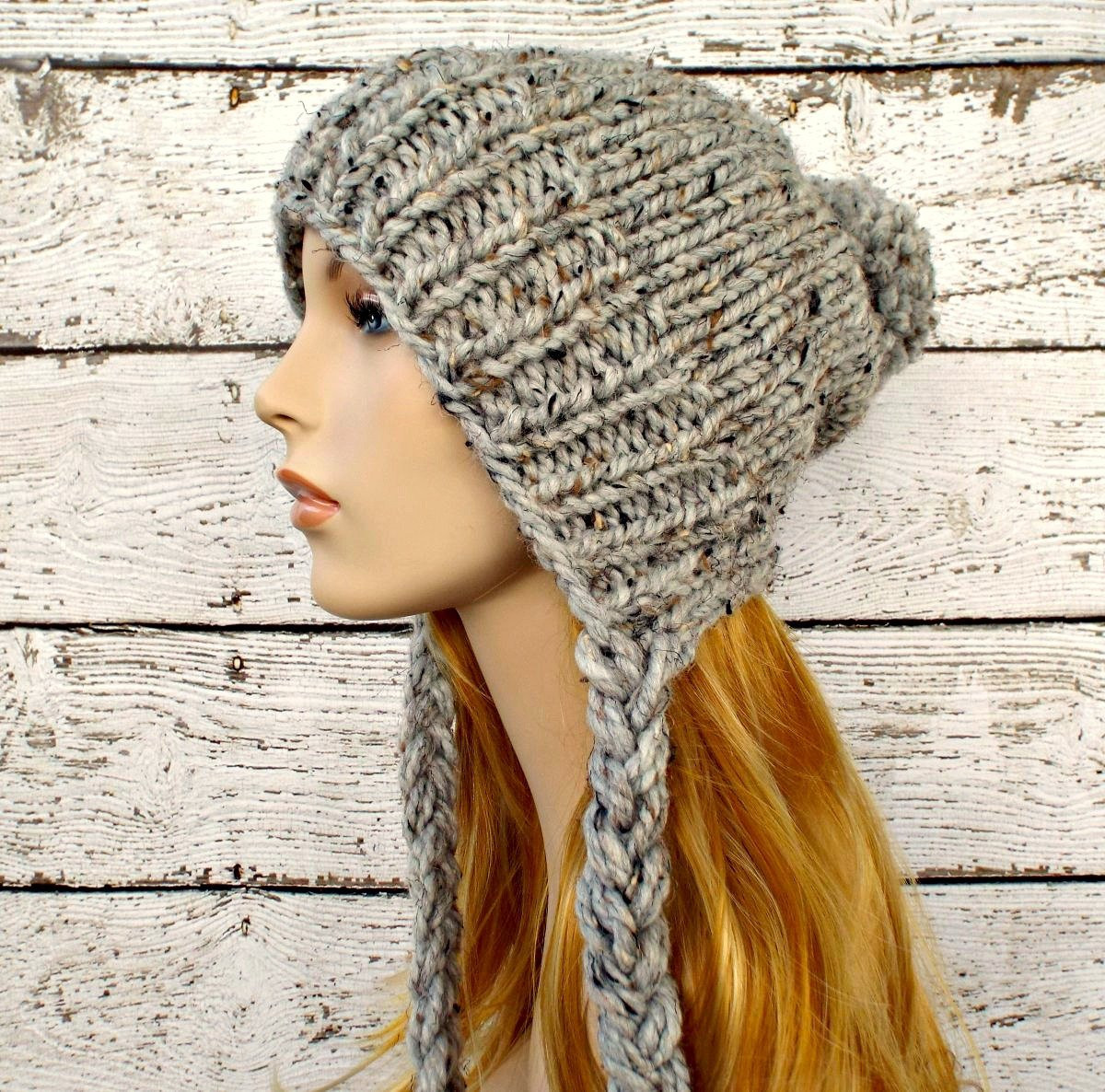 Luxury Instant Download Knitting Pattern Slouchy Ear Flap Hat Knit Hat with Ear Flaps Of Marvelous 50 Pics Knit Hat with Ear Flaps