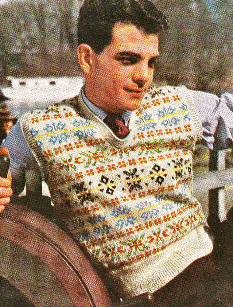 Luxury Instructions Vintage 1940s Fair isle Mens Pullover to Knit Knitting Design Of Incredible 42 Images Knitting Design