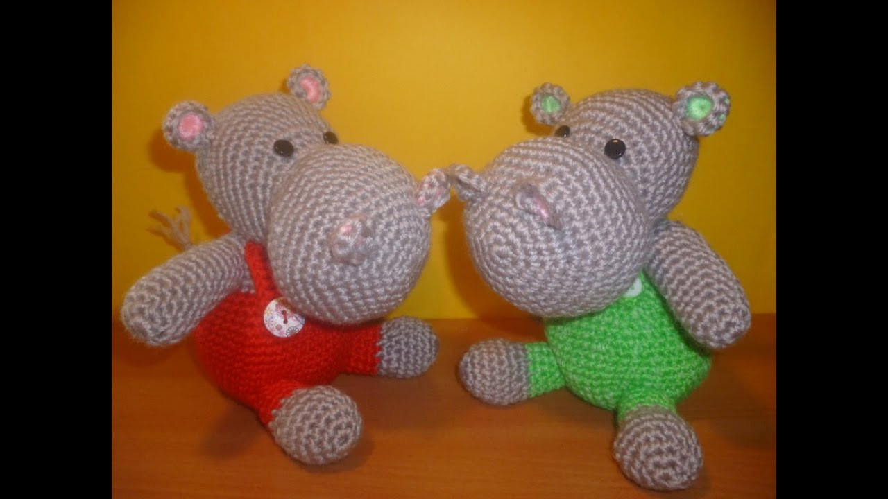 Luxury Ippopotamo Uncinetto Amigurumi Tutorial Hippopotamus Youtube Crochet Tutorial Videos Of Lovely 41 Photos Youtube Crochet Tutorial Videos
