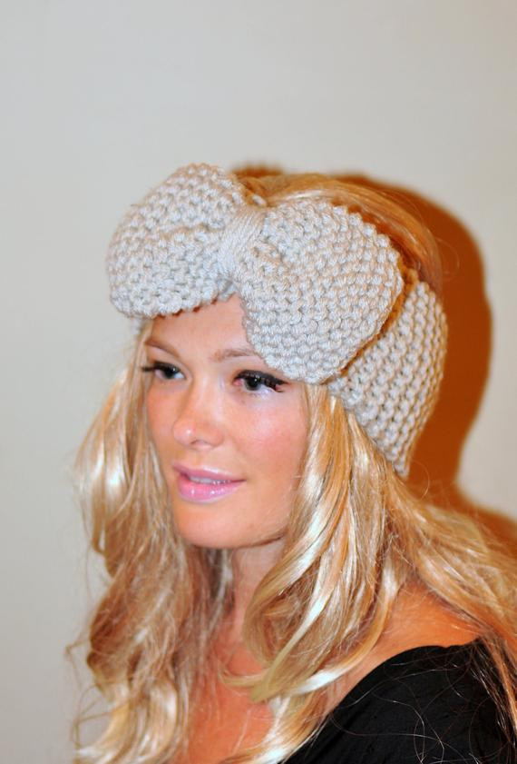 Luxury Items Similar to Big Bow Ear Warmer Crochet Headband Crochet Head Warmer Of Fresh 39 Photos Crochet Head Warmer