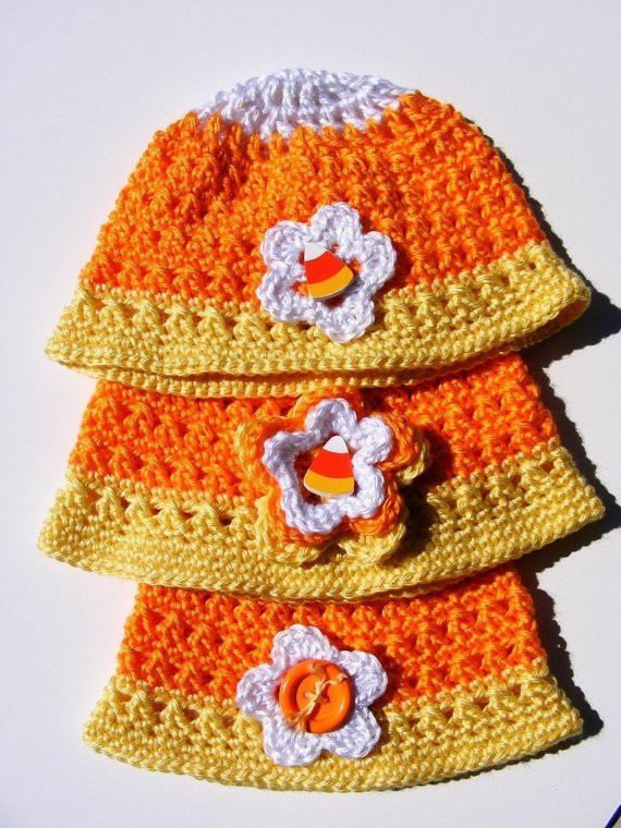 Luxury Items Similar to Crochet Candy Corn Hat Pattern Newborn to Easy Crochet Hat Patterns for Adults Of Delightful 48 Photos Easy Crochet Hat Patterns for Adults