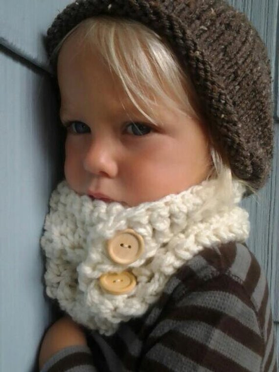 Luxury Items Similar to Crochet Cowl Kids Cowl Crocheted Crochet Cowl Neck Scarf Of Superb 49 Models Crochet Cowl Neck Scarf