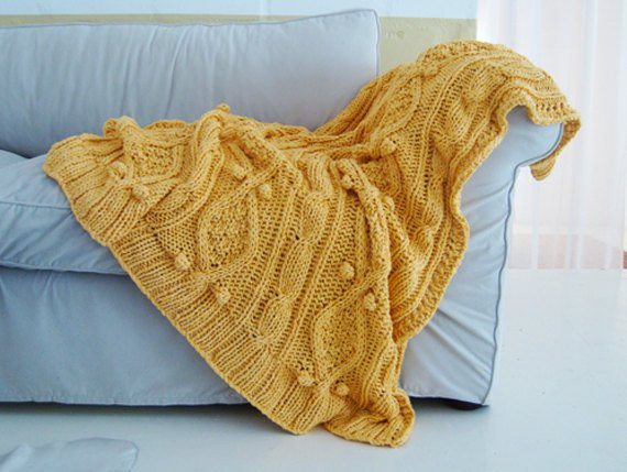 Luxury Items Similar to Knitting Pattern for Chunky Cotton Cable Chunky Cable Knit Throw Of New 48 Images Chunky Cable Knit Throw