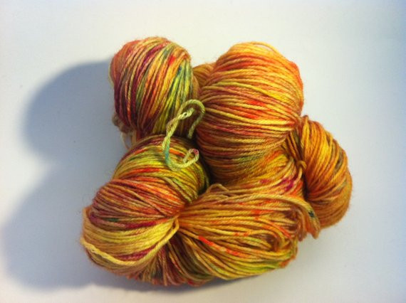 Luxury Items Similar to Yellow Wildflower Hand Dyed Variegated Yellow Variegated Yarn Of Charming 49 Ideas Yellow Variegated Yarn