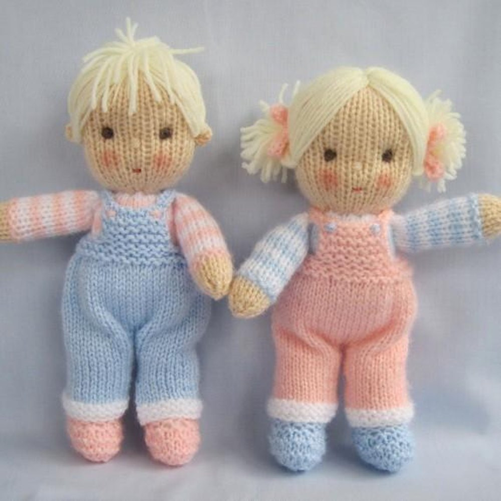 Luxury Jack and Jill Knitted Dolls Knitting Pattern by Knitted Doll Patterns Of Lovely 40 Models Knitted Doll Patterns