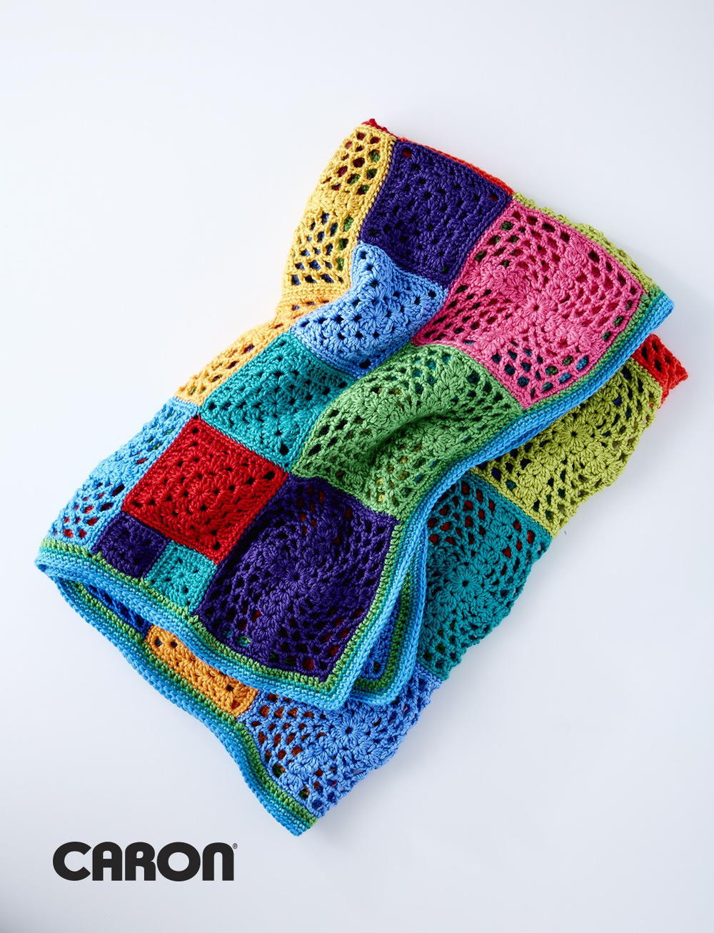 Luxury Kaleidosquares Crochet Afghan Granny Square Afghan Pattern Of Beautiful 49 Photos Granny Square Afghan Pattern