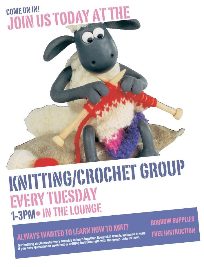 Luxury Knit and Crochet Group Flyer Universitysettlement Crochet Group Of Amazing 46 Pictures Crochet Group