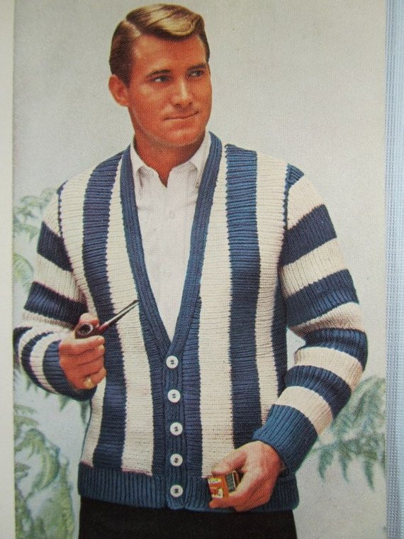 Luxury Knit Men S Cardigan Sweater Pattern 1950 S Vintage Mens Patterned Cardigan Of Charming 50 Models Mens Patterned Cardigan