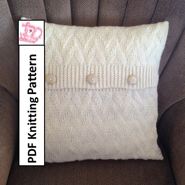 Luxury Knit Pillow Cover Pattern Pdf Knitting Pattern Knitted Knit Pillow Cover Pattern Of Amazing 45 Pics Knit Pillow Cover Pattern