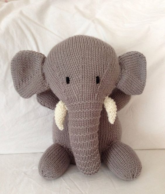 Luxury Knitted Animals Stuffed toys and Plush On Pinterest Knit Stuffed Animals Of Beautiful 47 Pics Knit Stuffed Animals