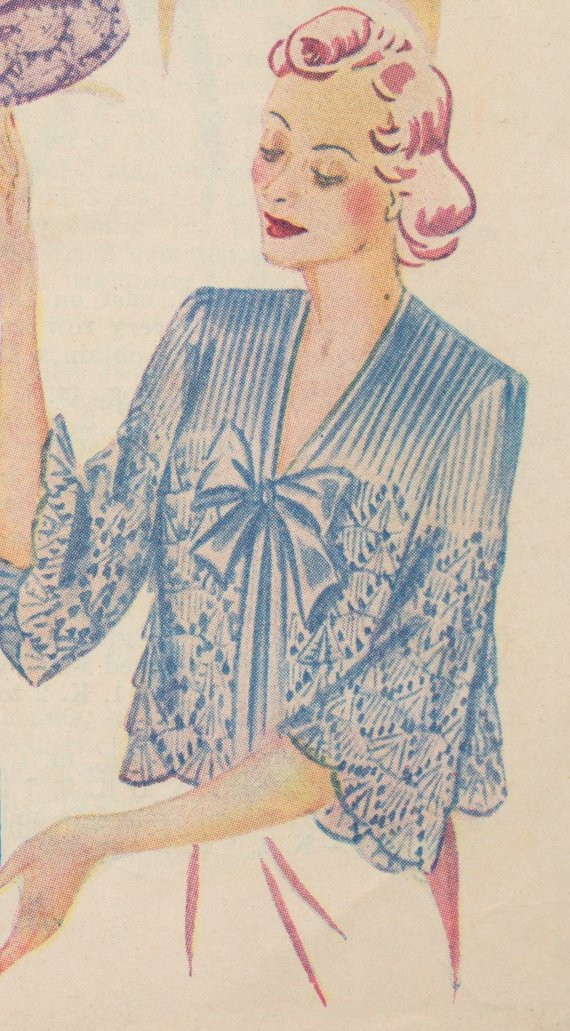 Luxury Knitted Bed Jacket In Cockle Stitch Pattern Pdf Bed Jacket Pattern Of Luxury 42 Ideas Bed Jacket Pattern