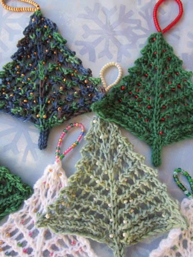 Knitted Christmas Trees • LoveKnitting Blog