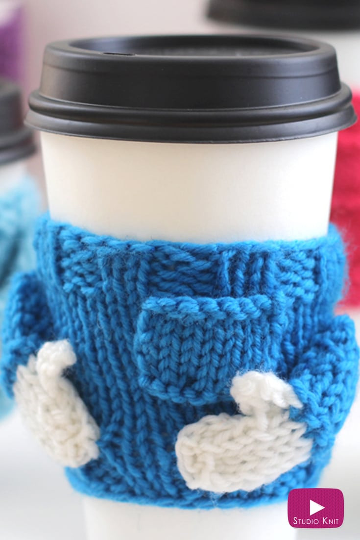 Luxury Knitted Coffee Cozy Sweater Pattern with Video Tutorial Knit Coffee Cozy Of Luxury 48 Photos Knit Coffee Cozy