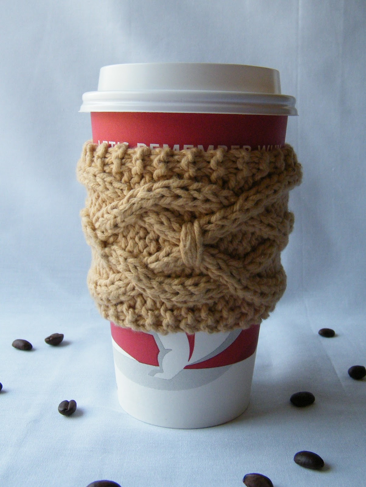 Knitted Coffee Cup Cozy Pattern Bing images