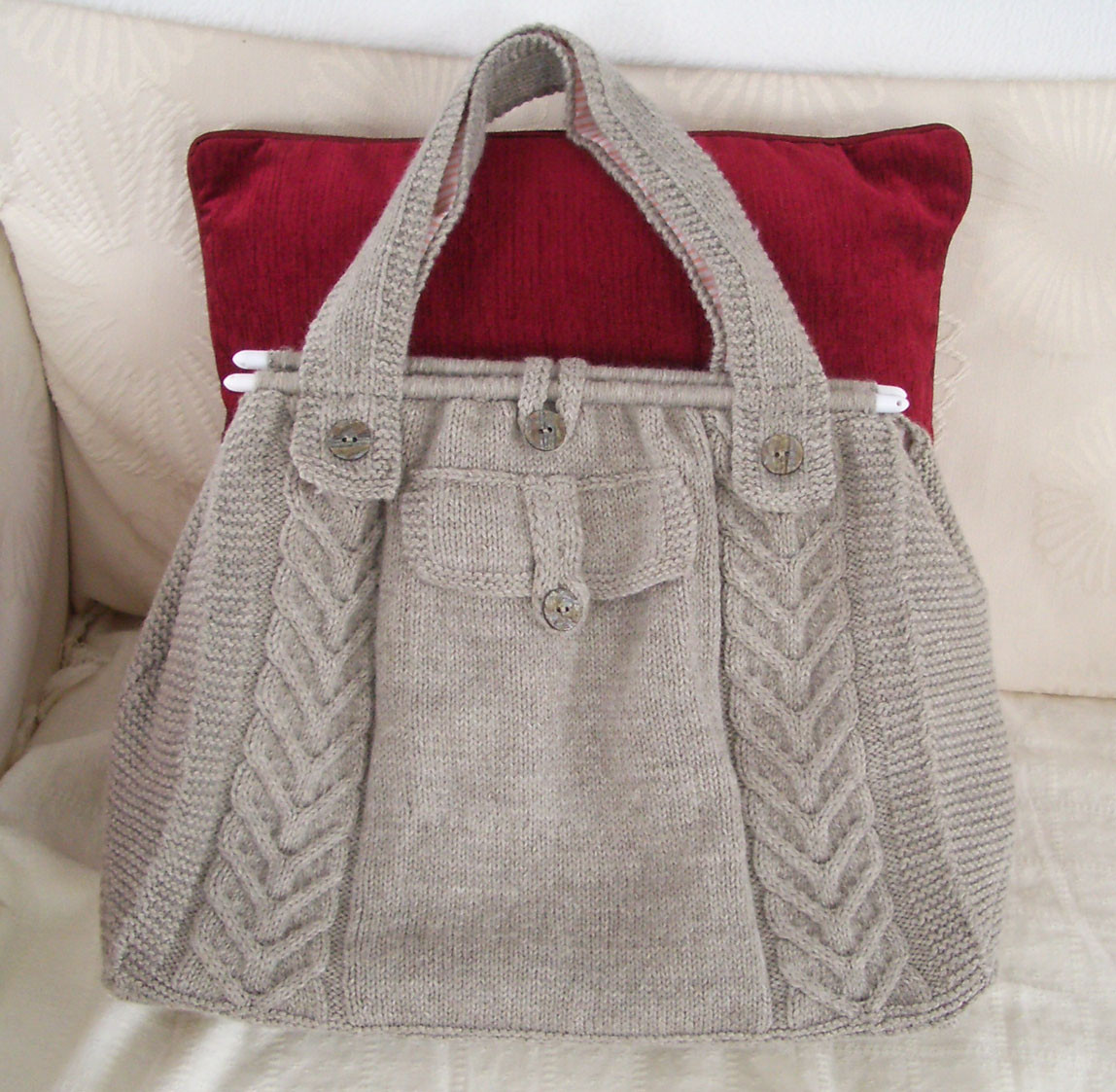 Luxury Knitted Creations Cable tote Knitting Bags and totes Of Marvelous 48 Ideas Knitting Bags and totes