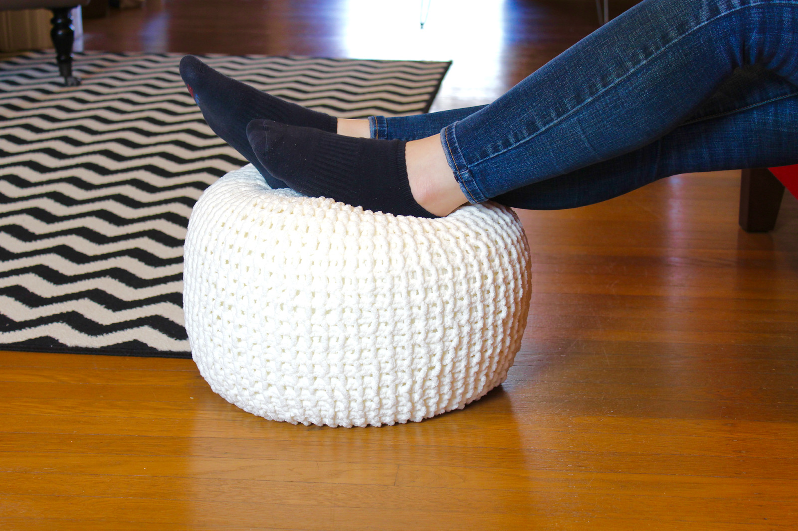 Luxury Knitted Floor Pouf the Surznick Mon Room Crochet Floor Pouf Of Luxury 49 Pictures Crochet Floor Pouf