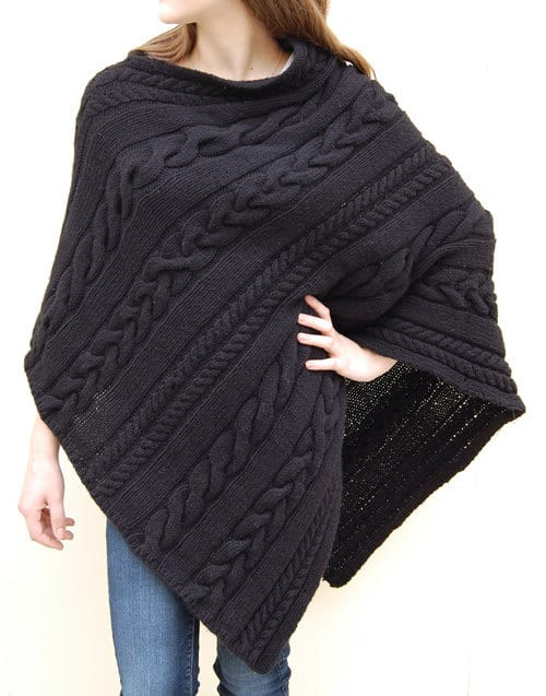 Luxury Knitted Poncho Patterns with Video Tutorial for Beginners Free Poncho Knitting Patterns Of Incredible 43 Models Free Poncho Knitting Patterns