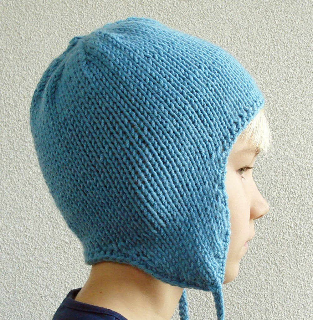 Luxury Knitting Pattern Earflap Hat for Children Knit Hat with Ear Flaps Of Marvelous 50 Pics Knit Hat with Ear Flaps