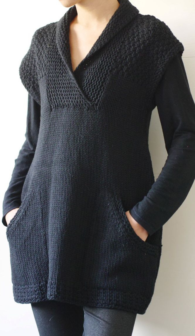 Luxury Knitting Pattern for Ebony Sleeveless Tunic Ad I Love Knitted Vest Of Great 48 Pics Knitted Vest