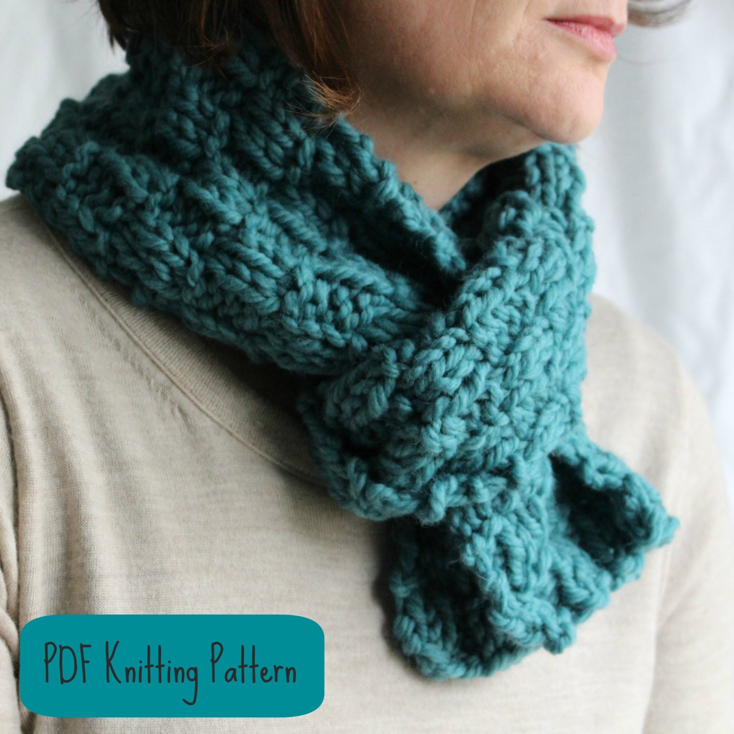 Luxury Knitting Pattern Scarf Cowl Easy Quick by Simple Knit Scarf Of Attractive 44 Pictures Simple Knit Scarf