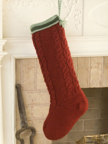Luxury Knitting Patterns Galore Cabled Christmas Stocking Knit Stocking Pattern Of Attractive 47 Pictures Knit Stocking Pattern