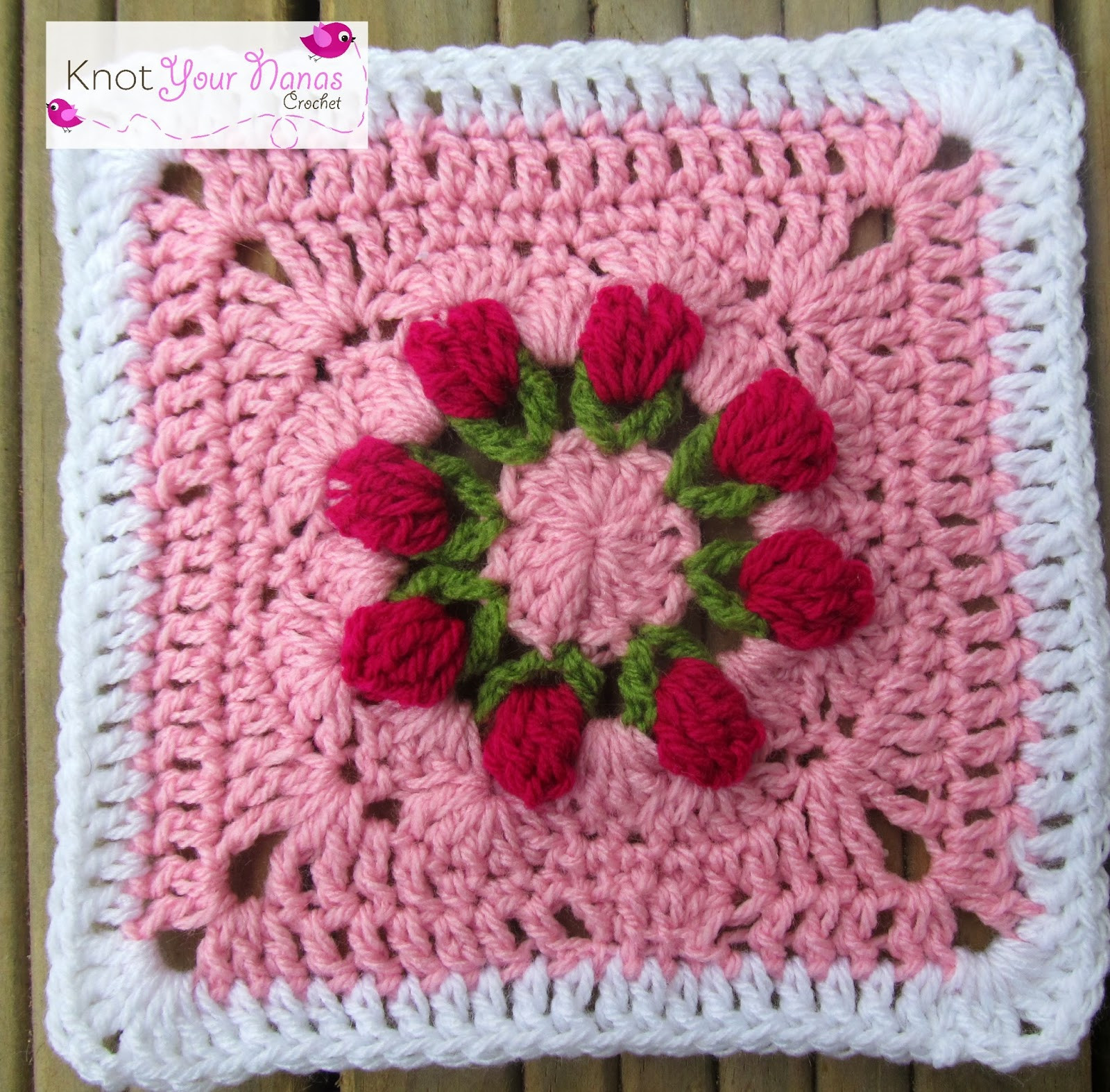 Luxury Knot Your Nana S Crochet Granny Square Crochet Along Crochet Flower Square Of Brilliant 47 Models Crochet Flower Square