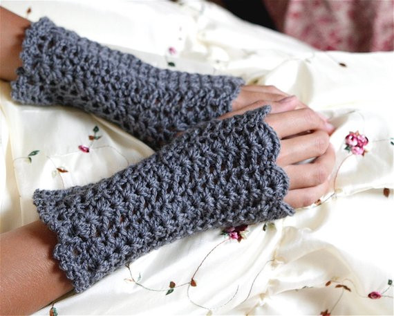 Luxury Lacey Crochet Fingerless Gloves Wristwarmers Pdf Pattern Easy Fingerless Gloves Crochet Pattern Of Innovative 49 Photos Easy Fingerless Gloves Crochet Pattern