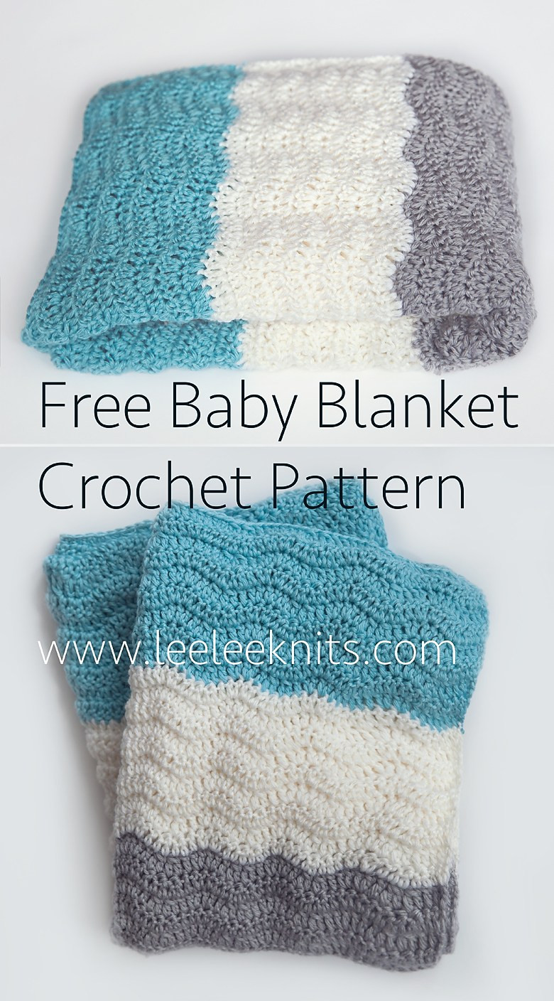 Leelee Knits Blog Archive Free Chevron Baby Blanket