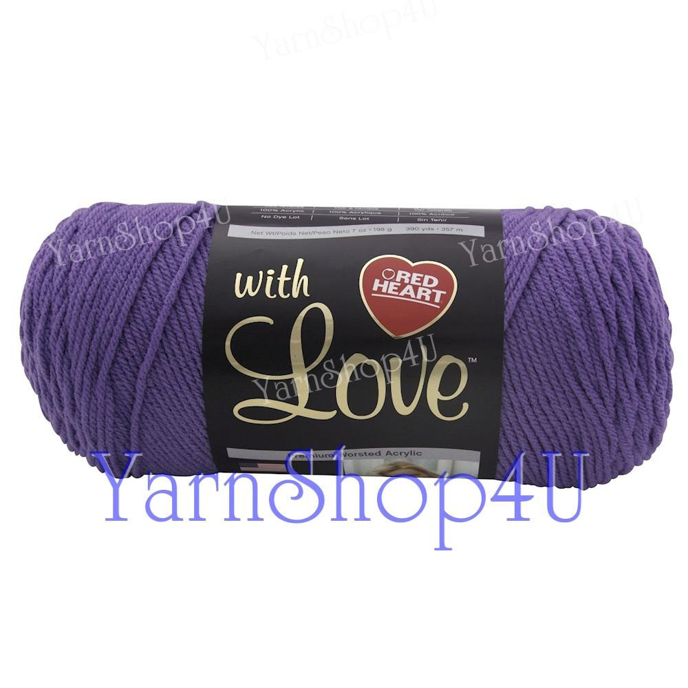 Luxury Lilac Red Heart with Love Yarn Purple Acrylic Yarn Red Heart with Love Yarn Colors Of Wonderful 40 Ideas Red Heart with Love Yarn Colors
