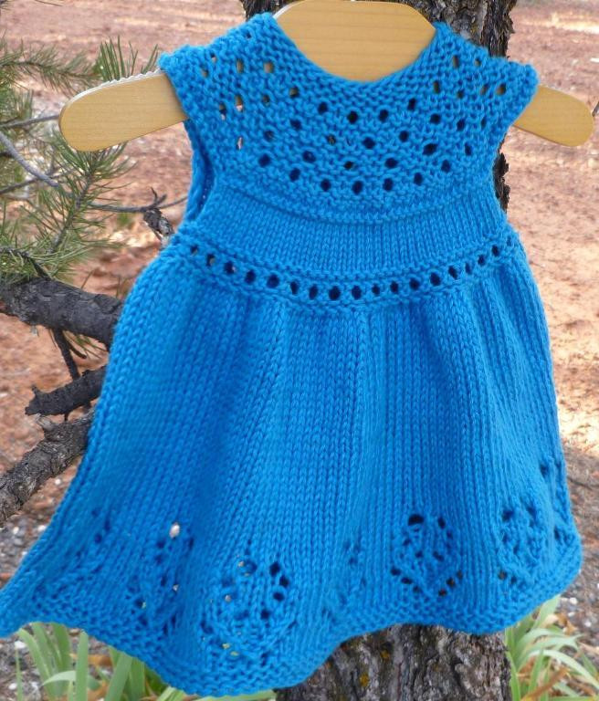 Luxury Lilly Rose Baby Dress by Taiga Hilliard Baby Dress Knitting Pattern Of Amazing 40 Models Baby Dress Knitting Pattern