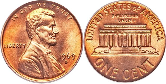 Luxury Lincoln Memorial Cent Us Coin Facts 1959 Present Lincoln Cent Values Of Amazing 50 Images Lincoln Cent Values