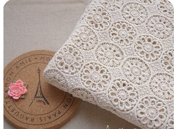 Luxury Line Buy wholesale Antique Cotton Fabric From China Crochet Lace Fabric Of Attractive 45 Images Crochet Lace Fabric
