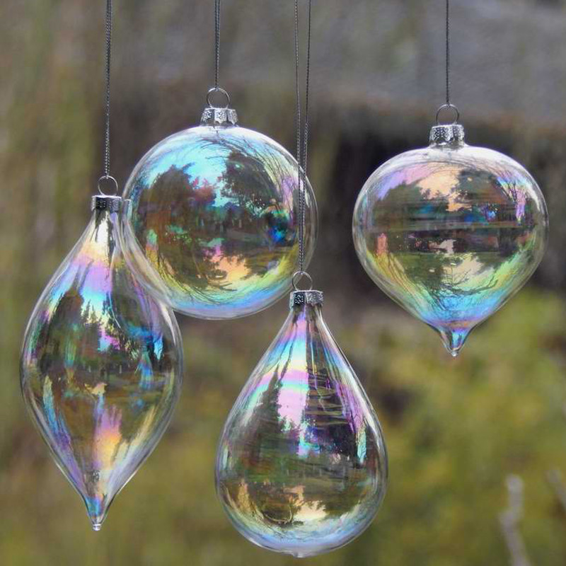 Luxury Line Buy wholesale Christmas Glass Baubles From China Glass Christmas Decorations Of Elegant Blown Glass Christmas ornaments Glass Christmas Decorations