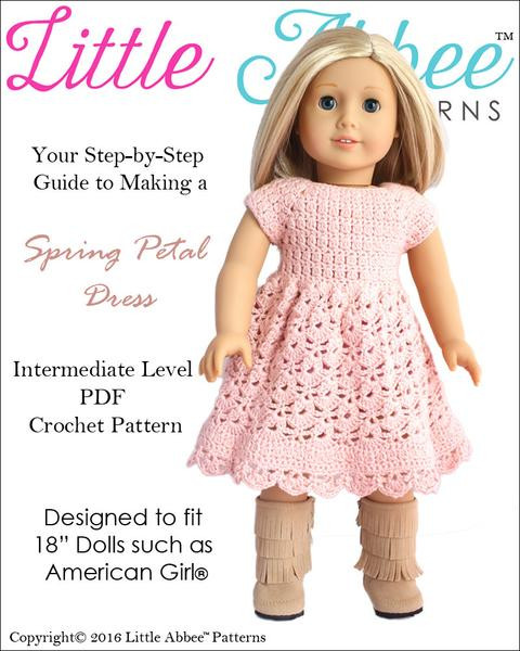 Luxury Little Abbee Spring Petal Dress Doll Clothes Pattern 18 American Girl Doll Clothes Patterns Of Incredible 40 Images American Girl Doll Clothes Patterns