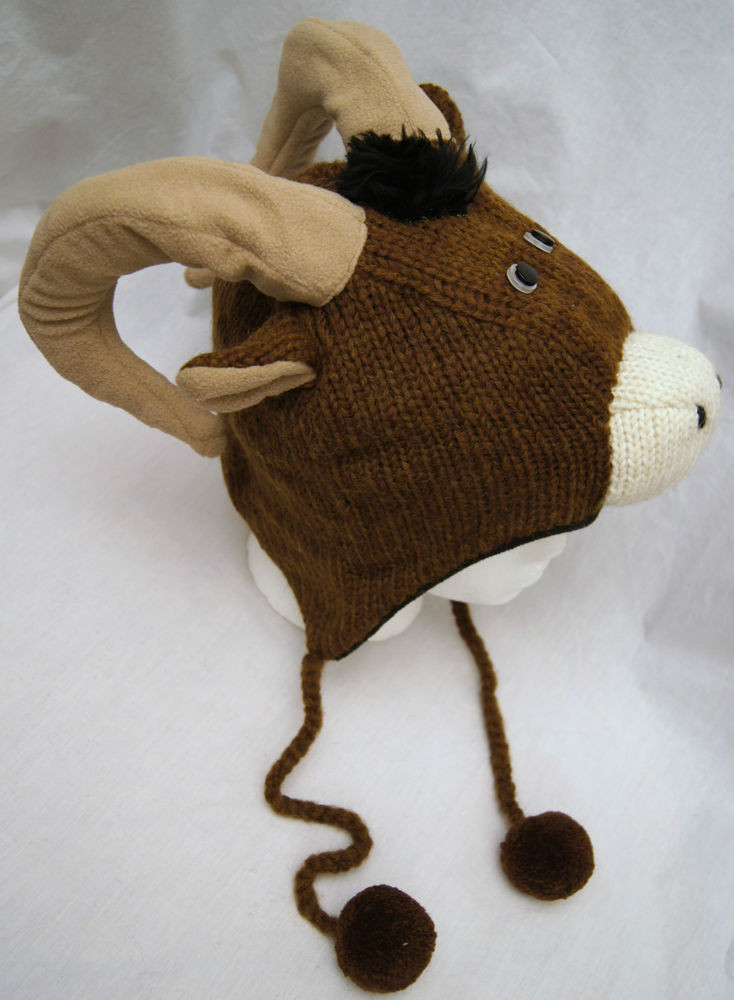 Luxury Longhorn Sheep Hat Knit Adult Ram Cap Dodge Costume Lamb Hat Of Awesome 46 Images Lamb Hat