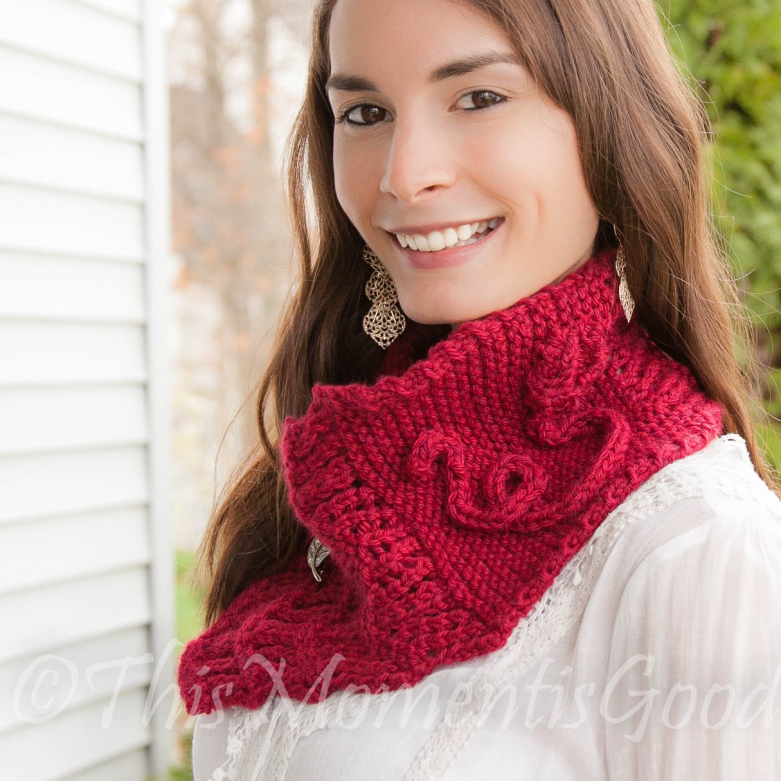 Luxury Loom Knit Scarf Cowl Shawl Pattern Wild Rose Cowl Knitted Cowl Of Brilliant 41 Models Knitted Cowl