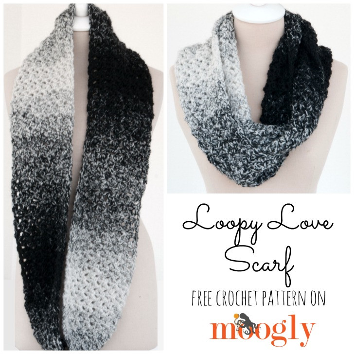 Luxury Loopy Love Scarf Moogly Lion Brand Scarfie Patterns Of New 42 Pictures Lion Brand Scarfie Patterns