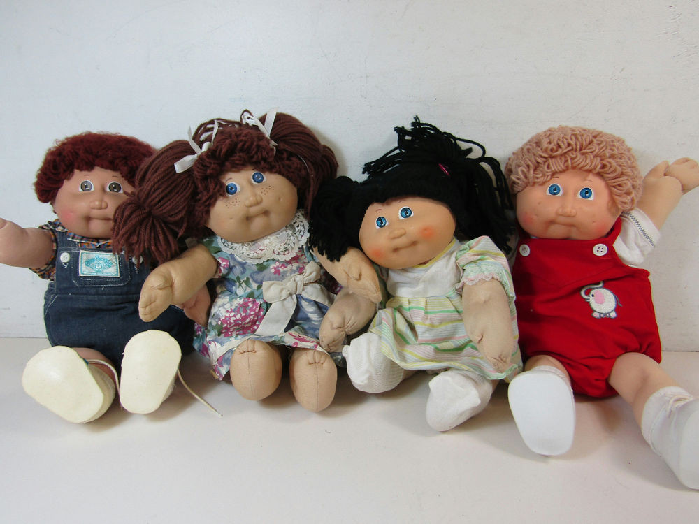 Luxury Lot 4 Vintage Cabbage Patch Kids Plush Dolls Childrens Collectible Cabbage Patch Dolls Of Luxury 42 Pics Collectible Cabbage Patch Dolls
