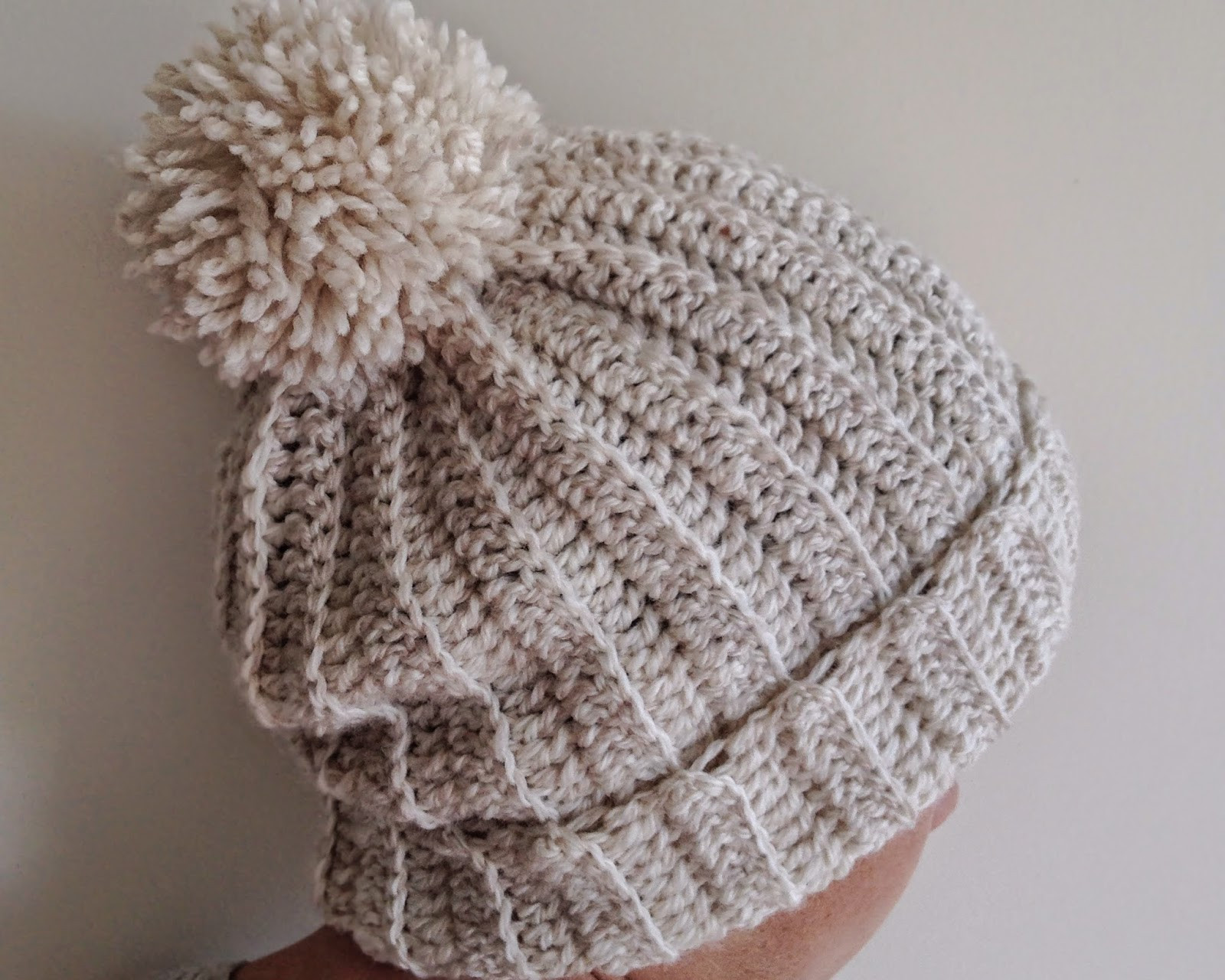 loved handmade the ribbed beanie a pattern