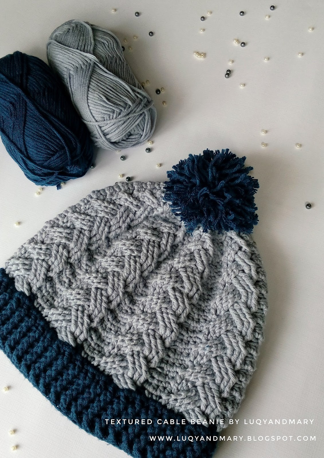 Luxury Luqy and Mary Yarnworks Crochet Cable Beanie Written Pattern Cable Hat Pattern Of New 40 Models Cable Hat Pattern
