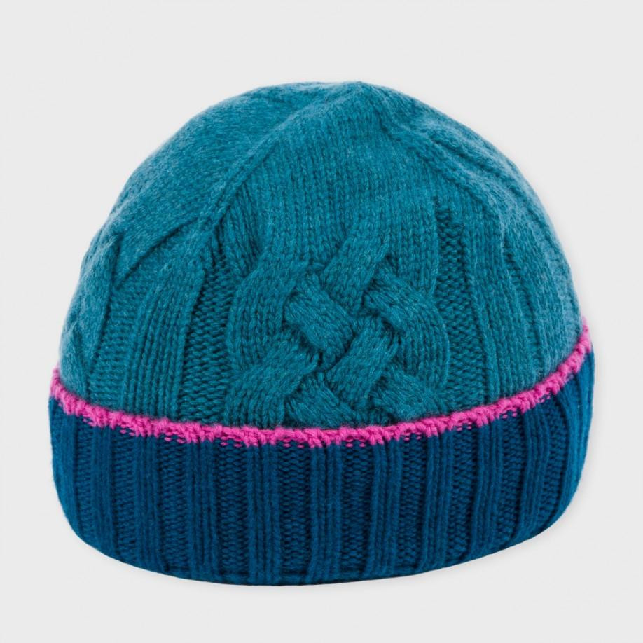 Luxury Lyst Paul Smith Women S Teal Cable Knit Wool Beanie Hat Cable Knit Hat Of Fresh 40 Pics Cable Knit Hat