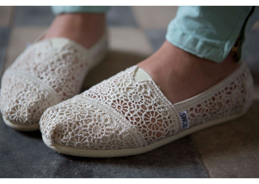 Luxury Lyst toms Natural Crochet Womens Classics In Natural toms Crochet Shoes Of Wonderful 45 Ideas toms Crochet Shoes