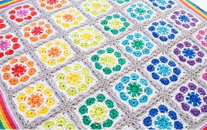 Luxury Magic Rainbow Crochet Baby Blanket Rainbow Crochet Blanket Of Great 40 Photos Rainbow Crochet Blanket