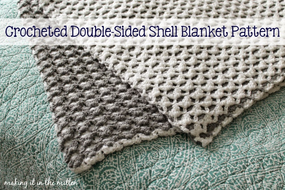 Luxury Making It In the Mitten Crocheted Double Sided Shell Double Crochet Afghan Of Fresh 42 Images Double Crochet Afghan