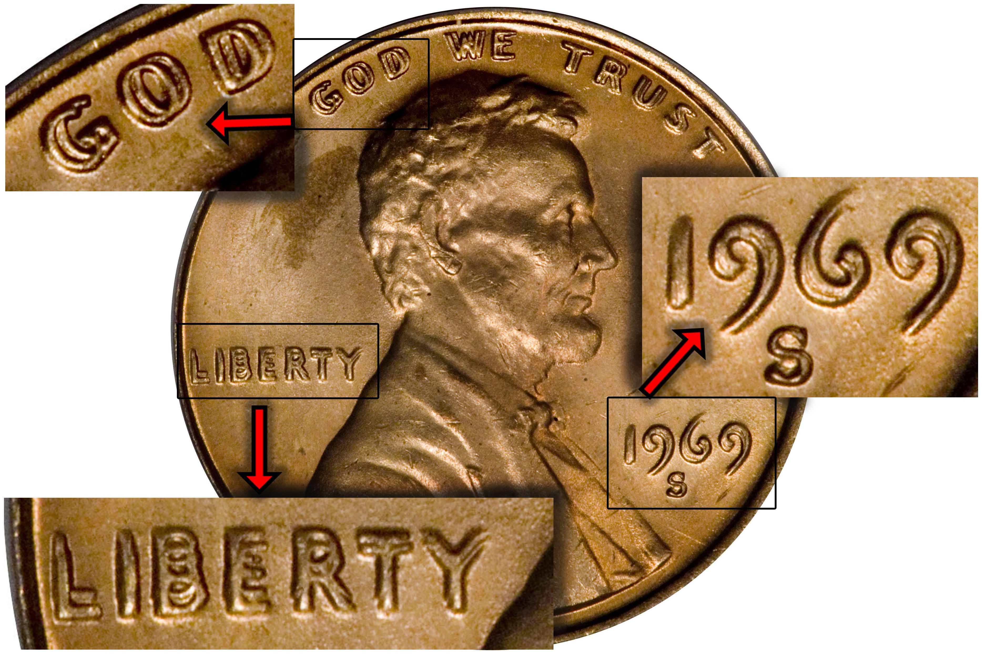 Luxury Man Finds 1969 S Doubled Die Lincoln Penny Double Die Penny Value Of Wonderful 48 Pictures Double Die Penny Value