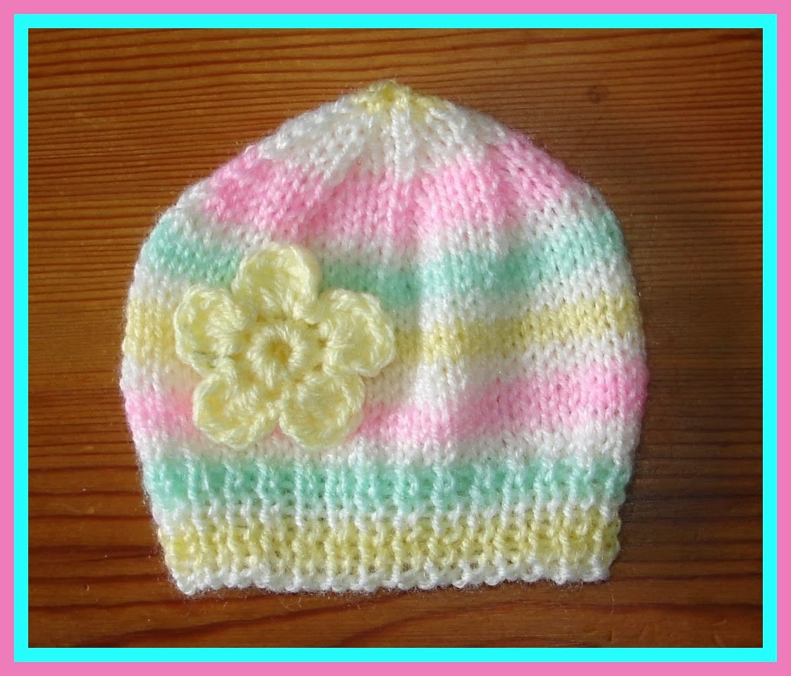 Luxury Marianna S Lazy Daisy Days Candystripe Knitted Baby Hats Baby Beanie Knitting Pattern Of Innovative 49 Pics Baby Beanie Knitting Pattern