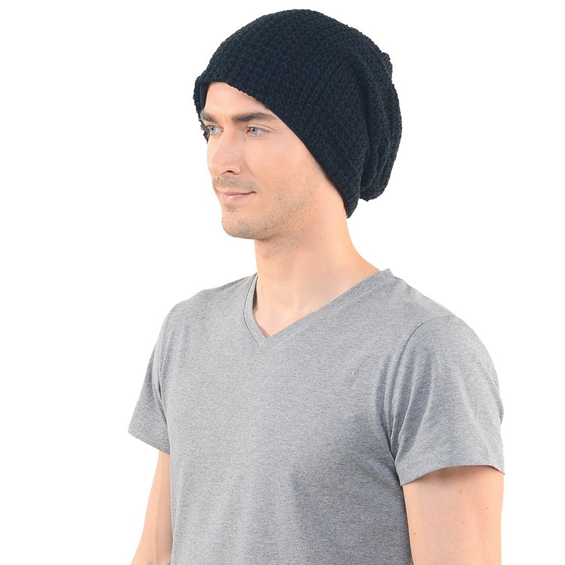 Luxury Mens Slouchy Long Beanie Knit Cap for Summer Winter Mens Knit Caps Of Delightful 41 Ideas Mens Knit Caps