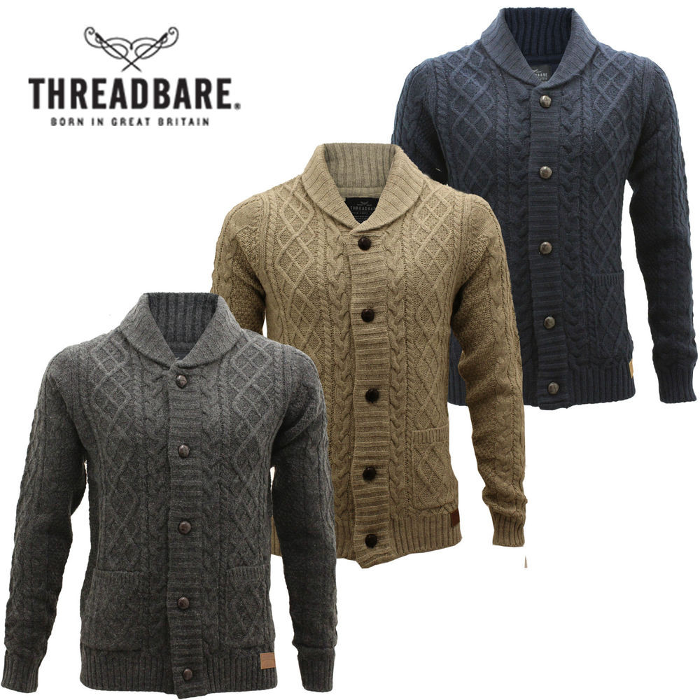 Luxury Mens Threadbare Wool Mix Cable Knit button Jacquard Shawl Mens Cable Cardigan Of Top 48 Pics Mens Cable Cardigan